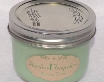 Jamaica Breeze Soy Wax Candle Wooden Wick