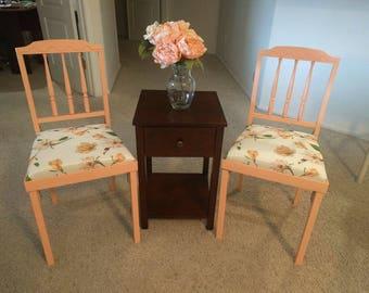 Refurbished vintage Leg-O-Matic folding chairs