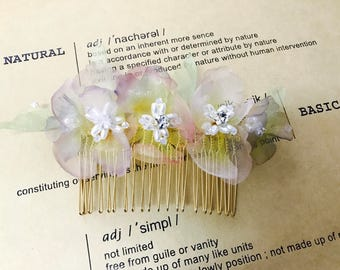 Cherry blossoms Hair combs/ Hair accessories/ cosplay /kimono style