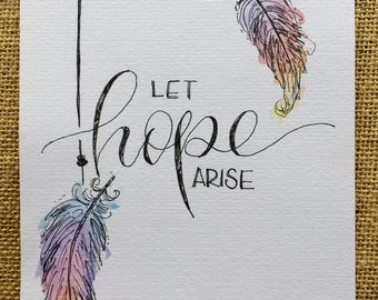 Let Hope Arise