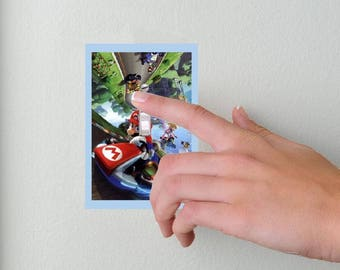 Mario Kart- Lightswitch Cover- Nintendo Mario Kart Room Decor