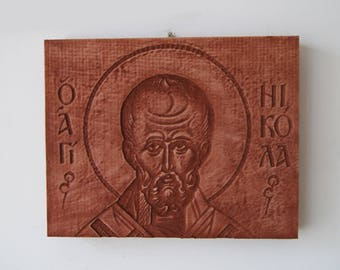 Wooden iconography