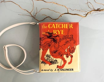 The Catcher In The Rye Book Purse Salinger Book Bag