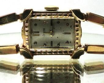 Vintage 14kt Gold LeCoultre