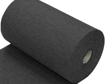 Cuff/Ribbing: Dark Grey Melee (95/5 Cotton/Elastane, 260gsm)  *UK*