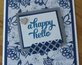 A Happy Hello Card