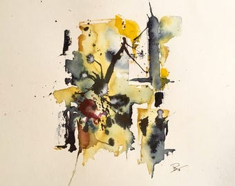 Abstract Aquarelle