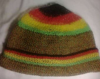 Hand Crocheted Designer Cap