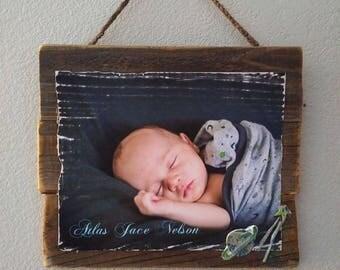 Custom Photograph on Wood