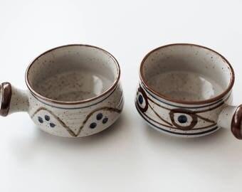 Vintage Pair of Ceramic Bowls