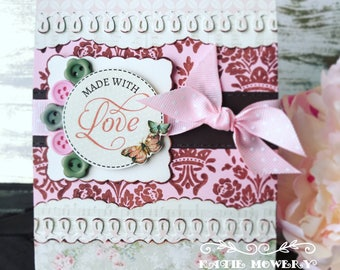 Made With Love ... Handmade Card
