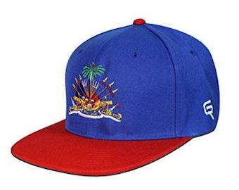 Go Rep Haiti Snapback Hat Cap