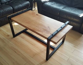 Floating Cherry Coffee Table