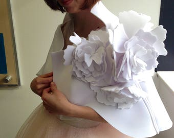 Neoprene bridal cape