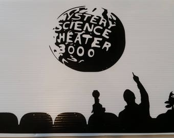 Mystery Science Theater 3000 Decal