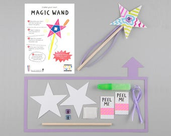 Make Your Own Magic Wand Kits - Perfect for Party Bags