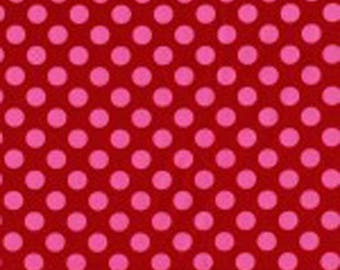 Berry Ta Dots Fabric - Michael Miller Fabric