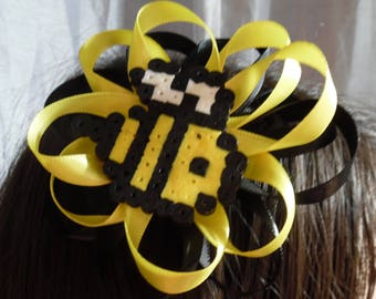 Bumblebee Hair Bow