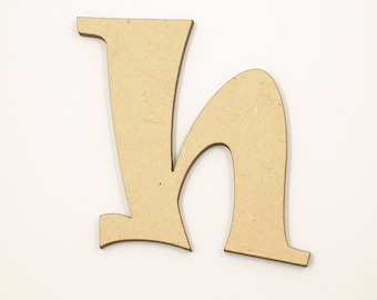 30cm MDF Wood Wooden Letters 3mm Thick RAVL