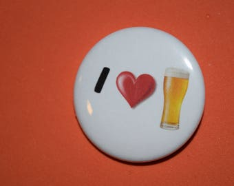I love Beer 1.5 Button