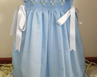 Dress apron a walk in the clouds point smock