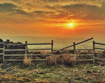 Ilkley Moor Sunrise Internet of Things (IoT) 1 of 8