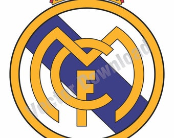 Gut gemocht Real madrid logo | Etsy EE21