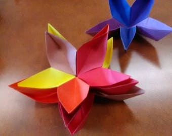 Paper Flower Dish