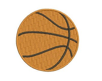 Basketball Embroidery Design Ball Embroidery Design Fill Design Machine Embroidery Instant Download Digital File EN2003_F3
