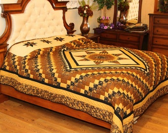 Bear Paw King Size Handmade Amish Quilt