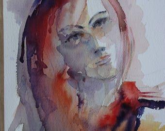 Stranger portrait