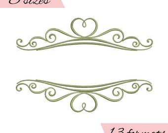 wedding monogram frames embroidery machine designs,monogram frames pattern,heart,merried