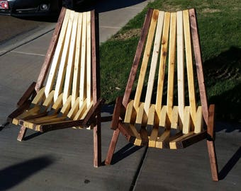 Stix  Chairs - Pair
