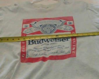 Vintage Budweiser tee