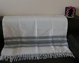 Handmade Moroccan bedspread