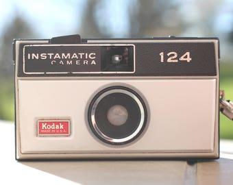 Vintage Kodak Instamatic 124 Camera Kodak Instamatic, Vintage, unique Camera, camera, Retro