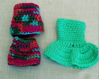 clothes for barbie a crochet