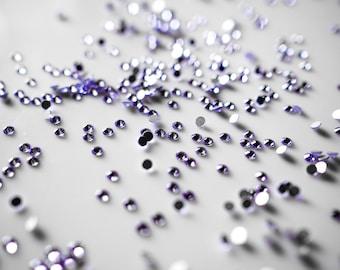 Swarovski Crystals Flat Back 2058 - No Hot Fix - SS9 (2,50-2,70 mm) Provence Lavender, Pack of 70 pcs