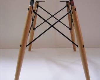 Dowel Base for Herman Miller Charles Eames fiberglass shell chair