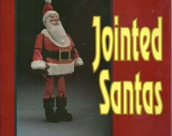 Tom Wolfe Carves Jointed Santas  paperback book