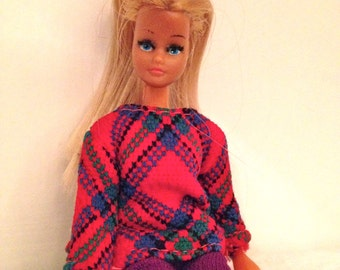 Vintage Palitoy Dancing Britt Doll First Issue Dated 1973