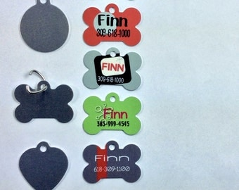 Dog Id Tag for Dogs, Dog Tags Personalized, Dog Tags Personalized for Dogs, Dog Tags for small Dogs, Dog Tag for Pets