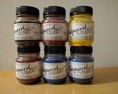 Jacquard Acid Dye Starter Set - 6 Dyes - Red Sky Sapphire Blue Yellow Black Vermillion