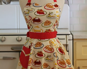 Retro Sweetheart Apron Slice of Pie - BELLA