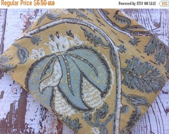 40% OFF- Old World Fabric-Reclaimed Bed Linens-Pottery Barn-Florals