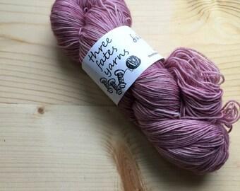 dahlias - terra sock, fingering weight sock yarn