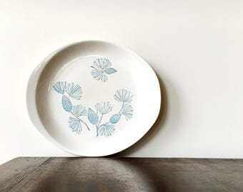 Vintage Marcrest Blue Spruce Serving Platter