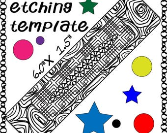 Patch Frame Work Making jewelry Etching Patch work Cuff pattern Download -DT-UNF-patch-4