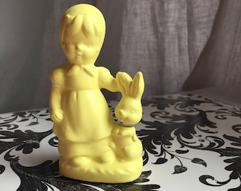 Decpitated Bunny Ceramic Figure
