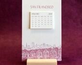 San Francisco Cityscape 2017 Postcard Calendar